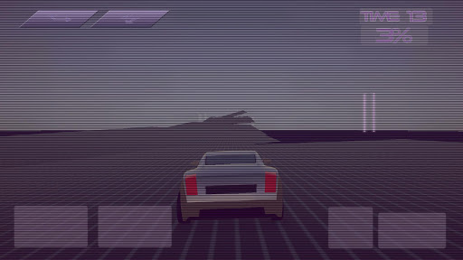Synthwave Driver 3D - Retrowave Racing Game apkmind screenshots 2