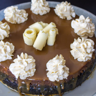 Ultimate Chocolate Turtle Cheesecake