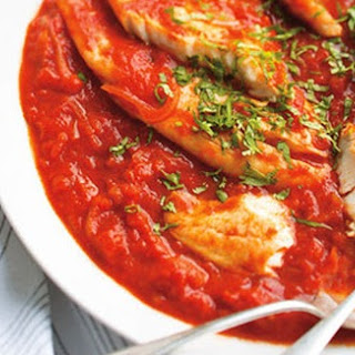 Codfish In Sweet And Sour Sauce