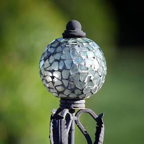 Garden Light  by Deborah Lucia - Artistic Objects Glass ( garden_light, decoration, light )
