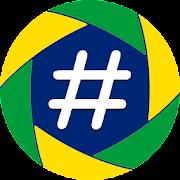 Hashtags in Portuguese