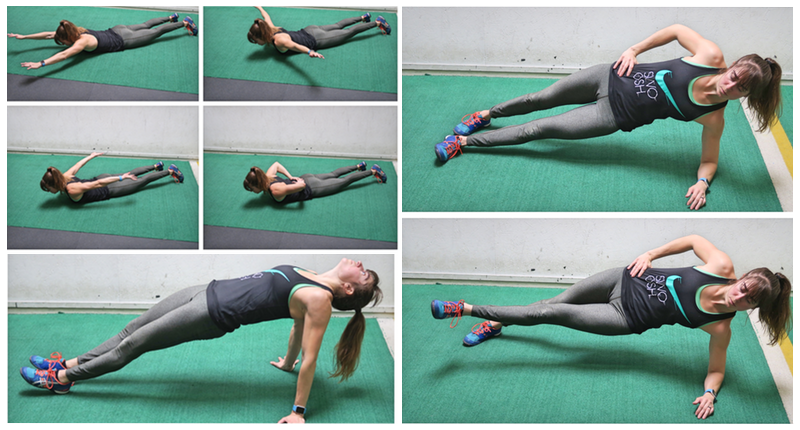 examples of a core workout