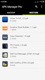 APK Manager Pro Screenshot