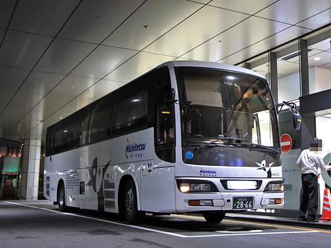 西鉄高速バス「桜島号」夜行便 4012 鹿児島中央駅前改札中 その4
