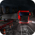Night Truck Drive and Parking Game 2019 icon