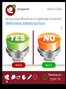 MyPointApp - náhled