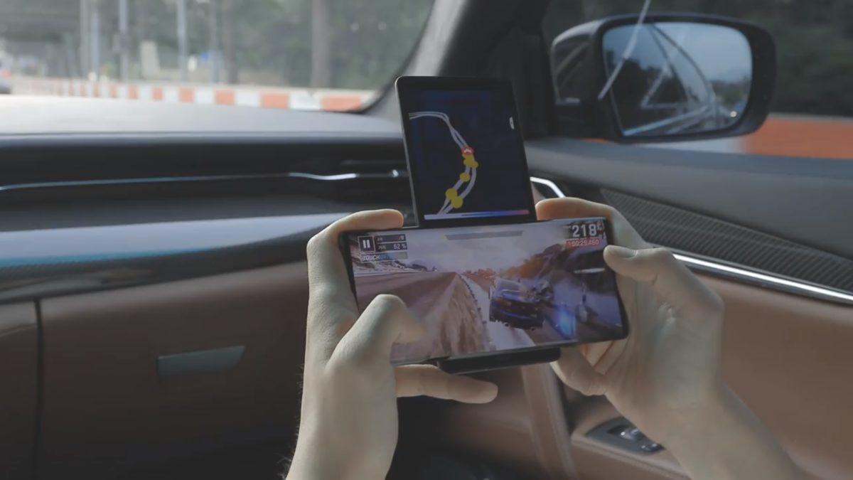 LG Wing Gaming Leaked Image