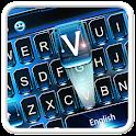 Blue Steel Keyboard Theme icon