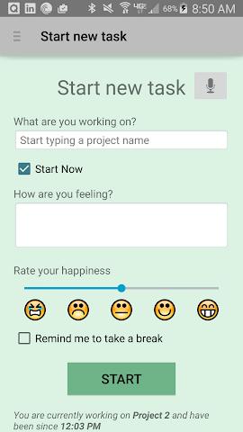 android qTimer Screenshot 1