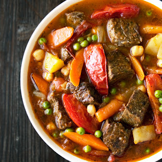 Curried Beef Stew.