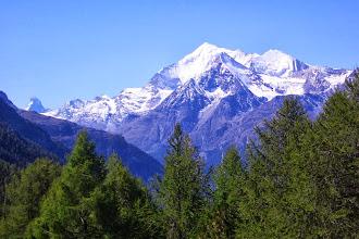 Photo: Prächtige Bergwelt