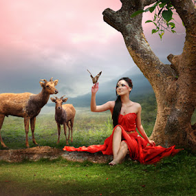 Me And My Friends by Zainal Arifin  - Digital Art People