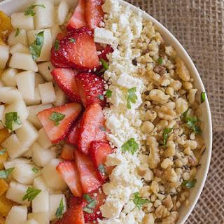 Super Fruit and Walnut Quinoa Salad