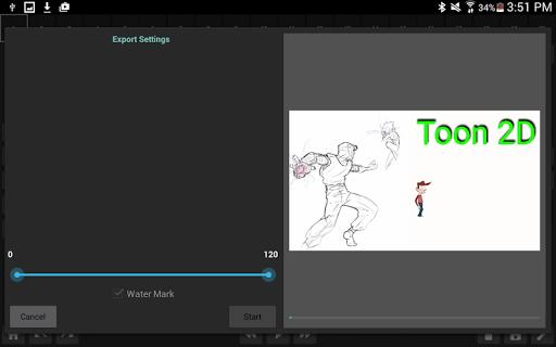 玩免費遊戲APP|下載Toon 2D - Animation Maker app不用錢|硬是要APP