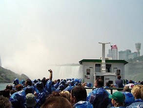 Photo: On the Maid of the Mist