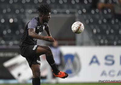 Rocky Bushiri (Eupen) explique qu'Eupen est capable de battre des Grands de pro League