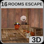 3D Escape Puzzle Halloween Room 1