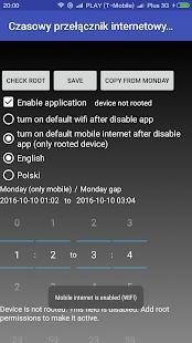 Mobile Internet Switcher - náhled