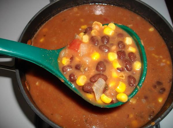 Black Bean, Corn, And Salsa Soup Recipe