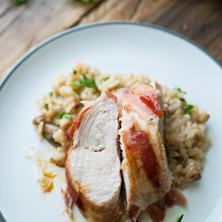 Bacon Wrapped Turkey Tenderloin