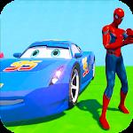 Superhero Color Cars (Supercity sim) Icon