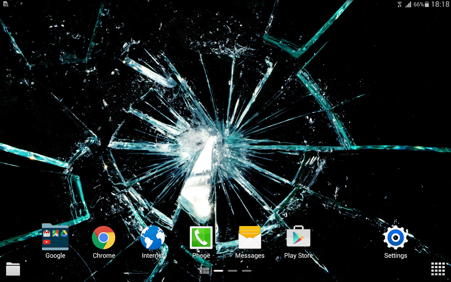 Cracked screen 4k android apps on google play for Android wallpaper 5 home screens