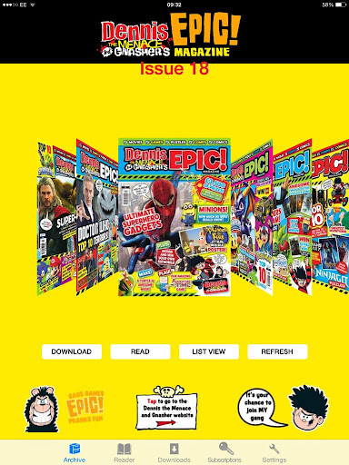 Dennis and Gnasher's Epic Mag
