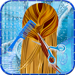 Ice Queen Hair Styles Salon Icon