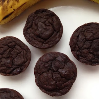 Rich Chocolate Banana Cranberry Muffins