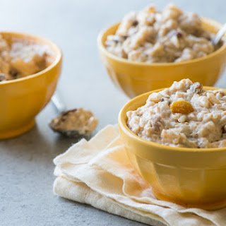 Pressure-Cooker Rice Pudding.