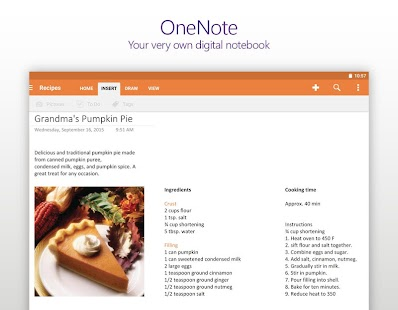 OneNote Screenshot 8