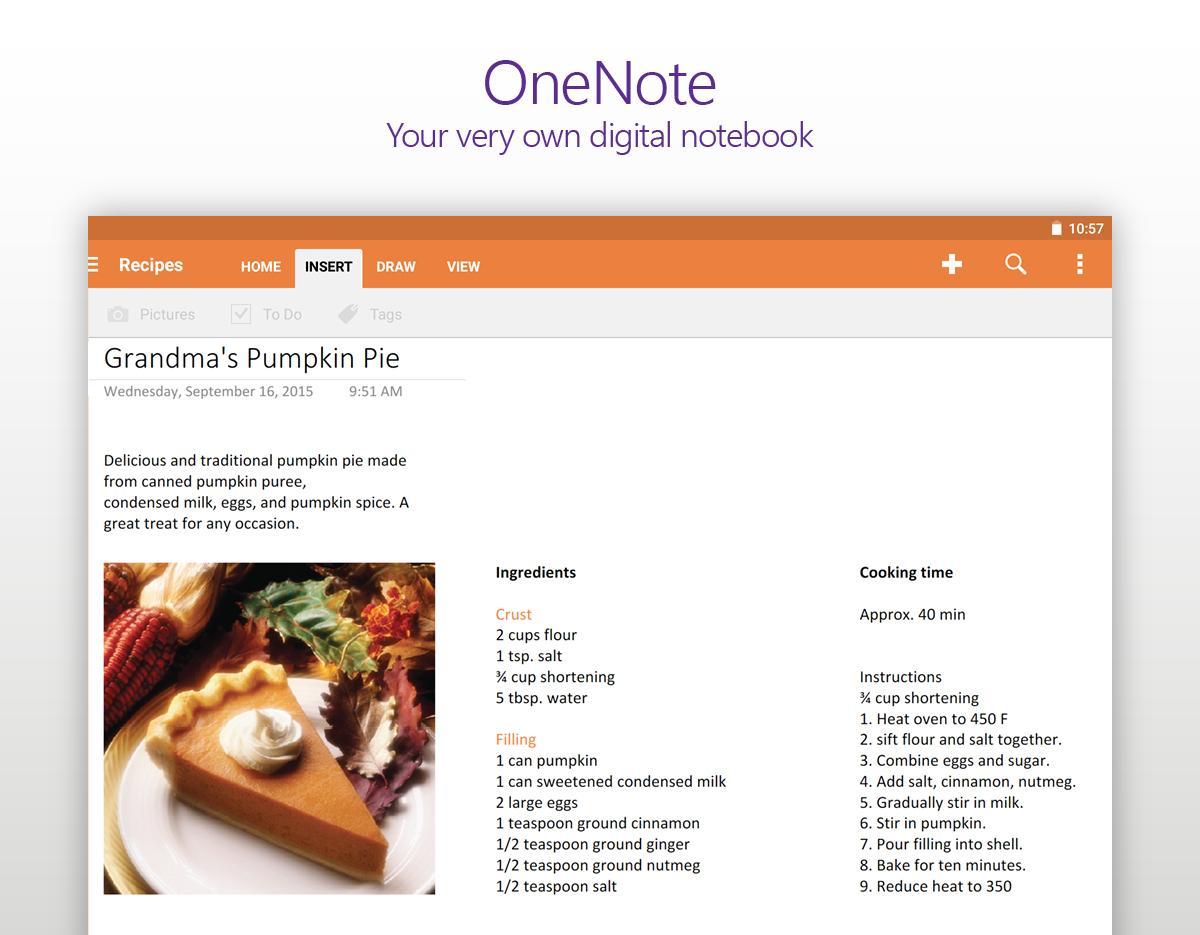 OneNote screenshot #8