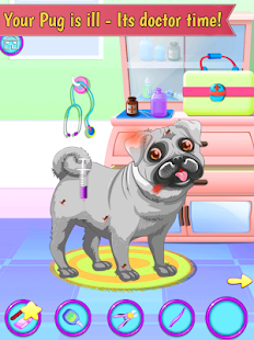 pug care game game pug pet vet doctor kids game apk for windows phone 863