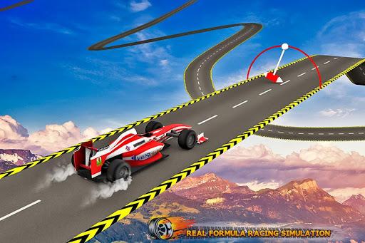 Formula Car Stunt  Race apkmr screenshots 1