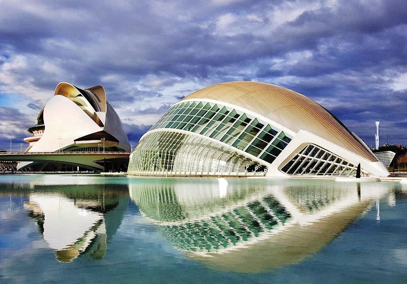 Città delle Arti e delle Scienze Valencia di KrissPad