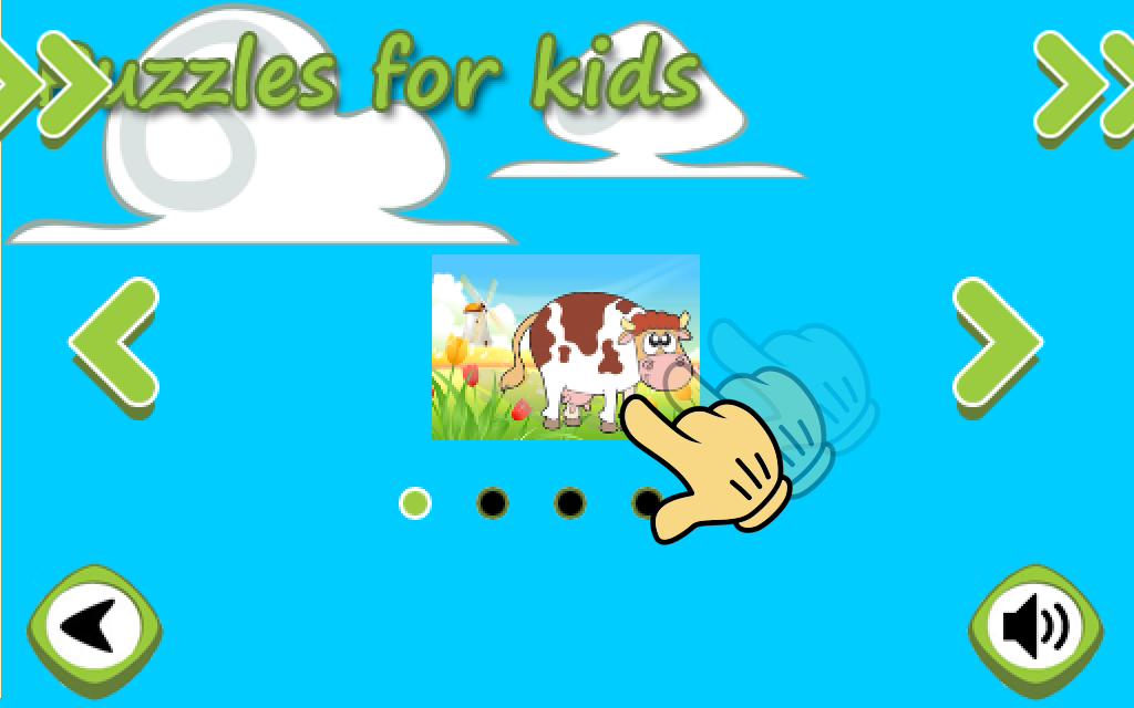 Animal Puzzles for kids free- screenshot