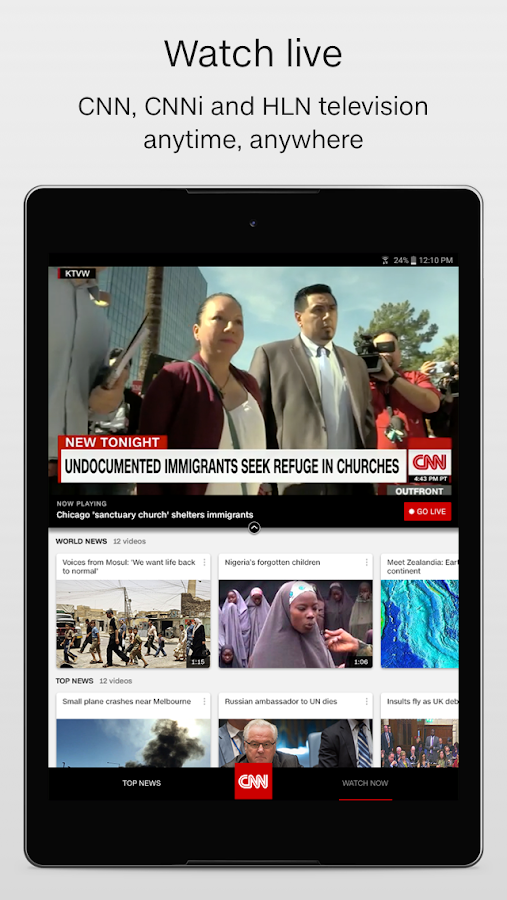 CNN Breaking US & World News – ekraanipilt