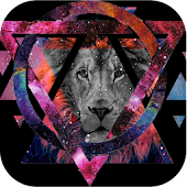 Hipster Wallpaper Galaxy Lion