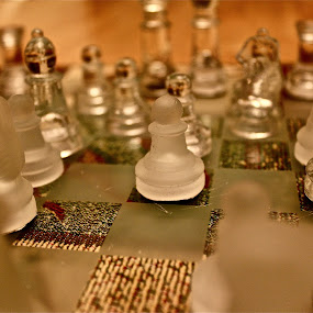 Chess by Crystal Gibson - Artistic Objects Other Objects