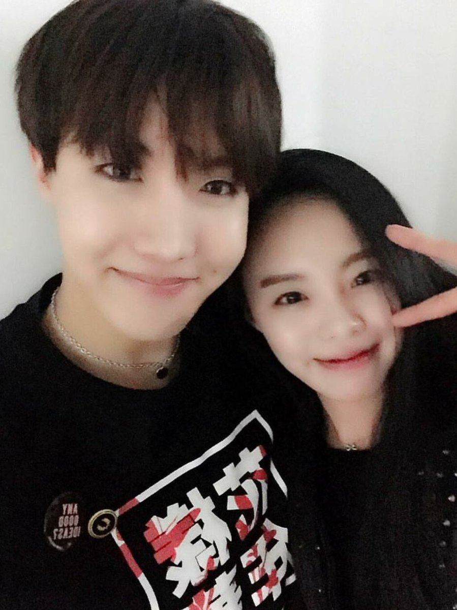 jhope and sister