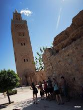 Photo: hlavní mešita Marrakesh