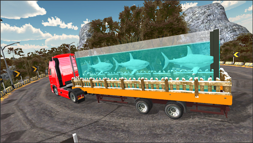 Sea Animals Cargo Truck Driver cheat screenshots 4