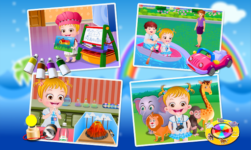 Baby Hazel Preschool Games