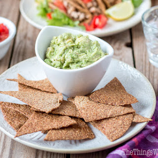 Flaxseed Paleo Tortilla Chips and Taco Shells