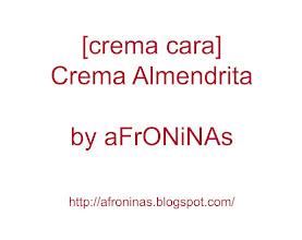 Photo: Crema Almendrita
