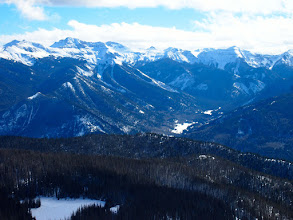 Photo: Wolf Creek Ski Area is located in the beautiful Southern San Juan Mountains.