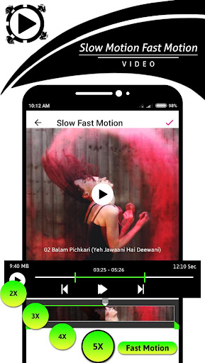 Slow Motion - Fast Motion Video 1.0.1 screenshots 3