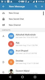 FriendChat - náhled