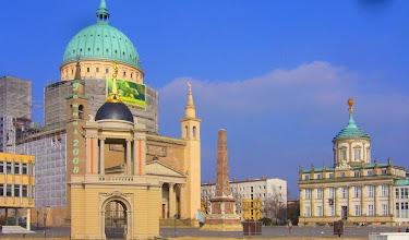 Photo: Potsdam mit Obelisk und Atlas