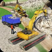 Amphibious Excavator Simulator